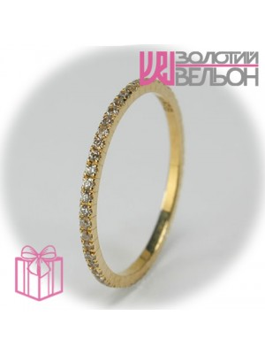 Gold ring with diamond 950-10701
