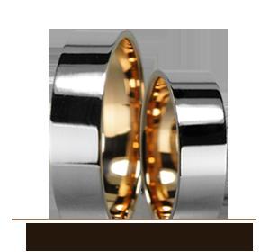 Classic wedding rings Golden Velyon TM